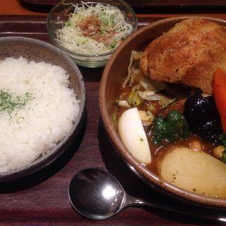 スープカリィ  【骨無しチキン&野菜】(Vajraroad ヴァサラロード)