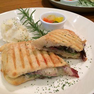BLTのパニーニ(Cafe Sokeri)