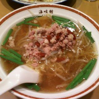 台湾ラーメン(海味館4)