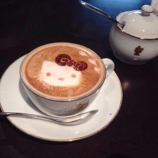 カプチーノ(Hello Kitty Cafe Restaurant)