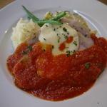 おすすめランチ 豚のロースト トマトソース