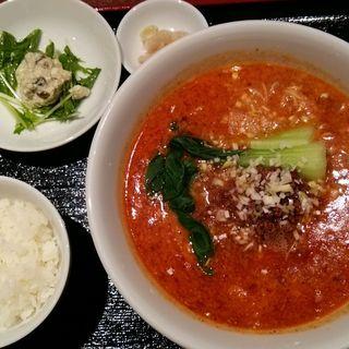 担々麺セット(中国菜 香山)