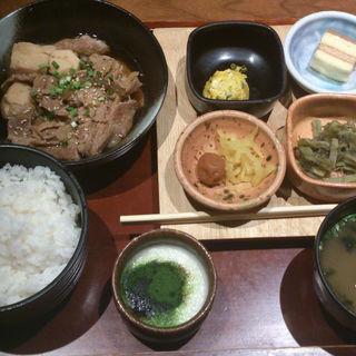 牛肉と里芋の煮物ランチ(和心庭 一蔵 恵比寿)
