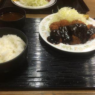 みそロースカツ定食(とんかつ いし河 )