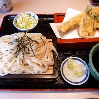 天ざるうどん(まるいうどん 狭山湖店)