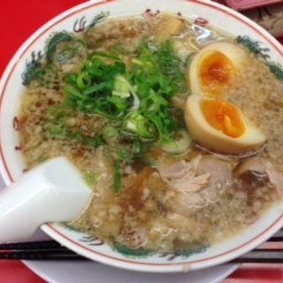 背脂醤油ラーメン(魁力屋 仙台南店 )