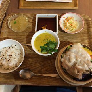 10zen定食プラスミニカレー(薬膳レストラン10zen)
