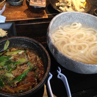 牛モツつけ麺(山元麺蔵)