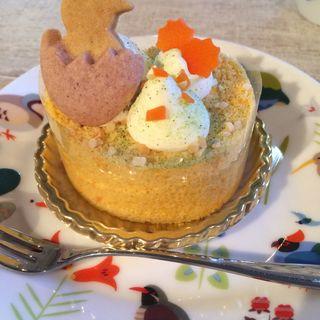 お野菜ケーキ(ことりカフェ 表参道 )