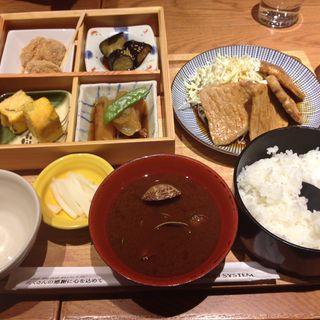 豚ロースの生姜焼き御膳(うちの食堂)