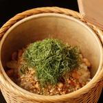 豆と胡麻の炊き込みご飯