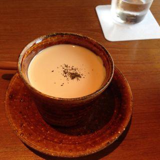 ほうじ茶のミルクプリン(祇園NITI (ニチ))