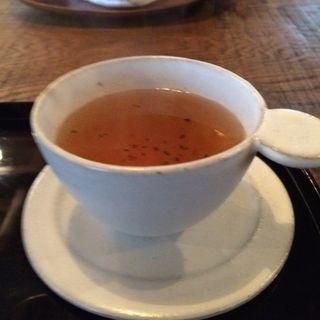 栗のほうじ茶(okatte cafe+gallery)