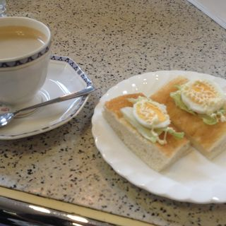モーニングセット(喫茶トマト)