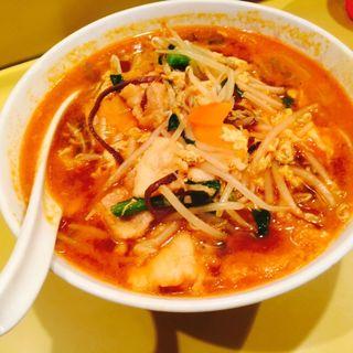 チゲラーメン(香来)