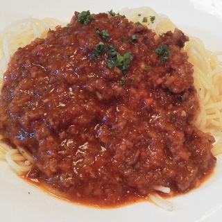 スパゲッティ・ボロネーゼ(カフェレストラン オアシス)