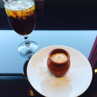 A-set 魔法の壺プリン(Frantz Cafe )