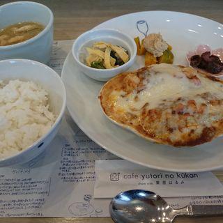 今月のお昼ごはん(cafe yutori no kukan )