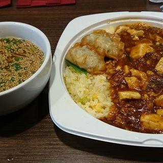 日替弁当「麻婆豆腐炒飯」(青天 みつはし)