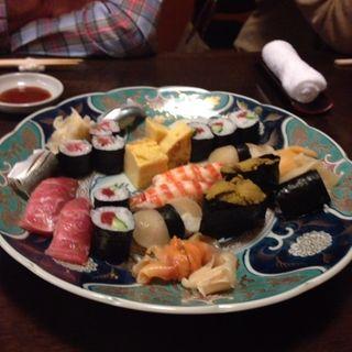 寿司盛り合わせ おまかせ(浮舟)