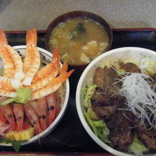 マグロほほ肉ステーキ丼(築地 どんぶり市場)