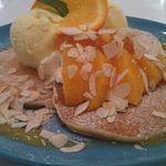 クリームチーズオレンジパンケーキ