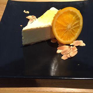 柚子とオレンジのチーズケーキ(Shuhari 六甘)