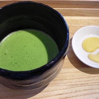 抹茶(茶庭 然花抄院 渋谷ヒカリエ ShinQs店 (ぜんかしょういん))