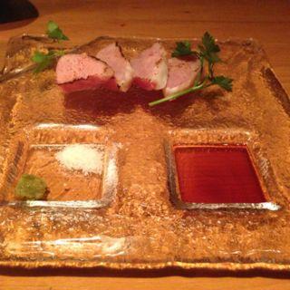 絶品しばれ生ハム 岩塩と柚子胡椒添え(コードネーム ミクソロジー)