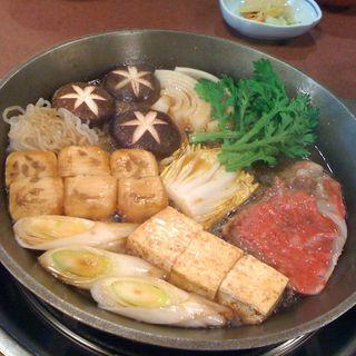 すき焼昼膳(浅草今半 国際通り本店)