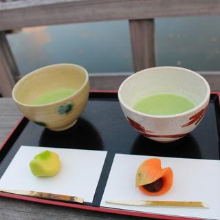 上生菓子抹茶セット(中島の御茶屋 )