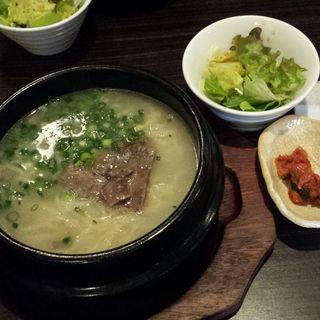 ソルロンタンラーメン(韓国料理サラン)