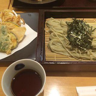 野菜天へぎ(越後長岡 小嶋屋)