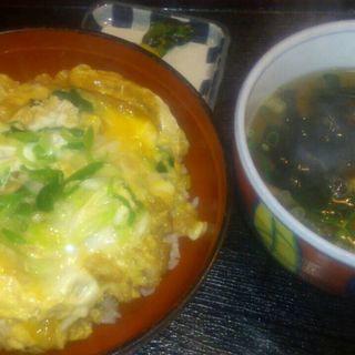 きつね丼セット(信州蕎麦麺 清水庵 )