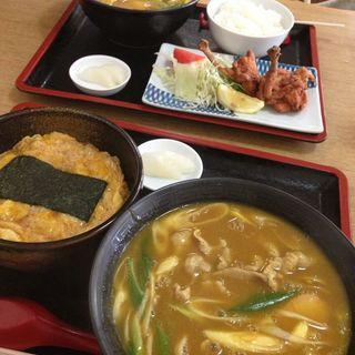 玉子丼セット(小谷食堂 )