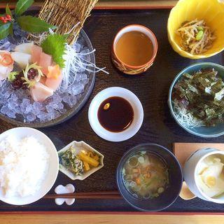 お刺身御膳(日本料理 h(アッカ))