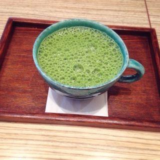 抹茶ミルク(八十八茶房)
