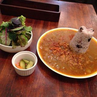 たきびカレーセット(Ginger & Star Cafe)