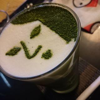 よーじや製抹茶カプチーノ(よーじやカフェ 銀閣寺店 )