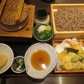 五目釜飯天ぷら定食(今日亭)
