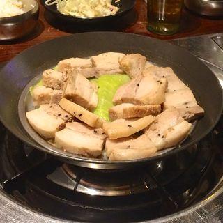 ポッサム定食ランチ(カントンの思い出 鶏肉研究所)