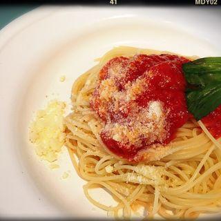 自家製トマトソース自家製トマトソースパスタランチ(ルナピエナ・マリーナ( Luna Piena Marina ))