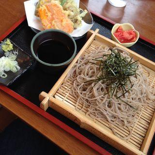 野菜天ざる(橋倉屋)