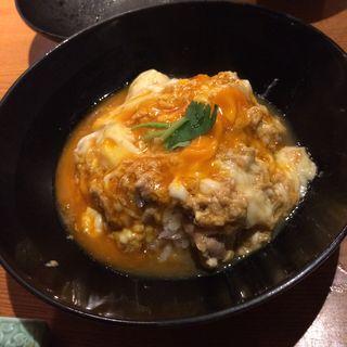 親子丼セット(焼鶏あきら 中目黒本店 (やきとりあきら))