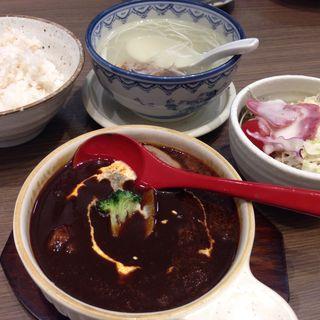 牛タンシチュー定食(仙台牛タン森商店)