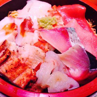 ちらし寿司(すし処 なだや)
