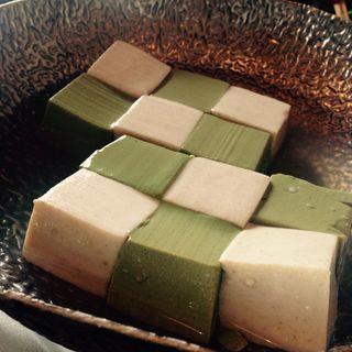 湯豆腐  雅コース(豆腐料理 松ヶ枝 )