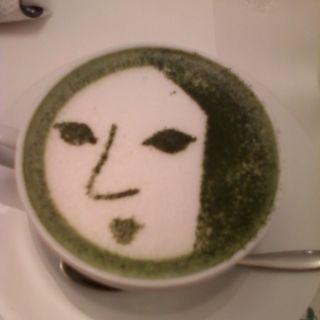 よーじや製抹茶カプチーノ(よーじやカフェ 三条店 )