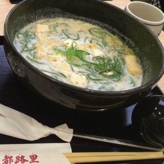 豆乳抹茶そば(茶寮都路里 祇園本店 (さりょうつじり))