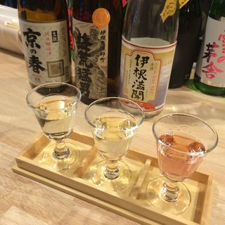 利き酒セット(浅野日本酒店 )